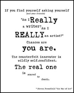 So You Call Yourself A Writer?