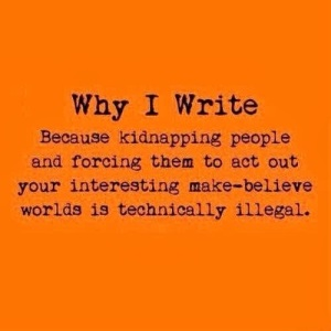 Fiction Writing Makes One Slightly Insane