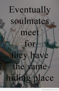 My soulmate is a carnie? Great.