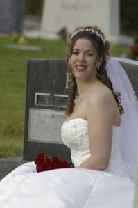 bride tombstone