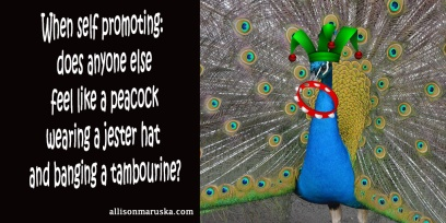 peacock jester tambourine