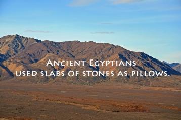 stone pillows