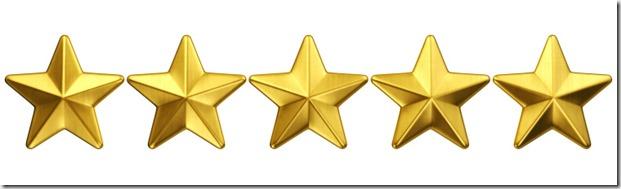 five stars - google image