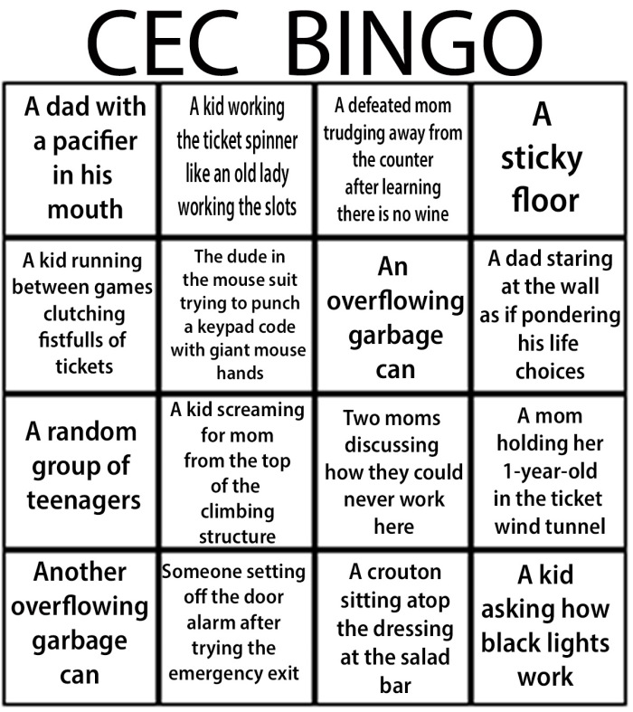 CEC bingo
