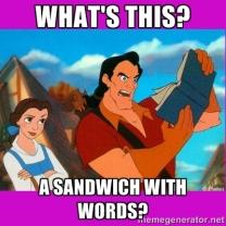 book sandwich