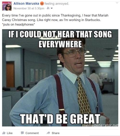 I Hate Christmas.Why Do I Hate Christmas Music Allison Maruska