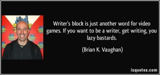 lazy-writer-quote