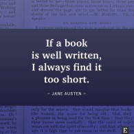 short book quote