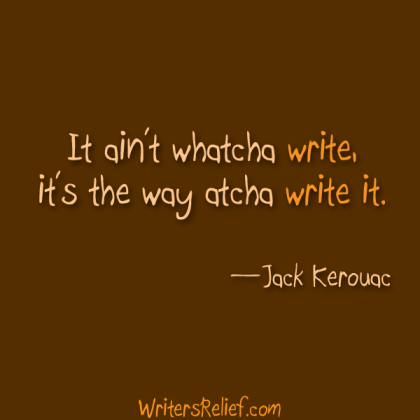 way you write quote