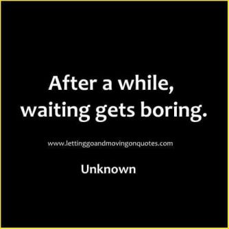 waiting quote