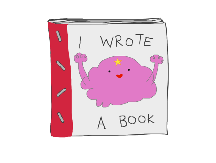 wrote a book