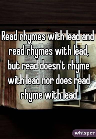 read lead