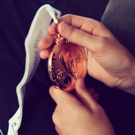 Nathan's medal